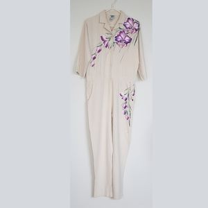 Island Spirit 100% Silk Kona Hawaii Romper